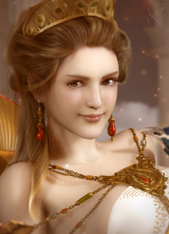 This is supposed to be Hera, but it looks like some type of Final ...